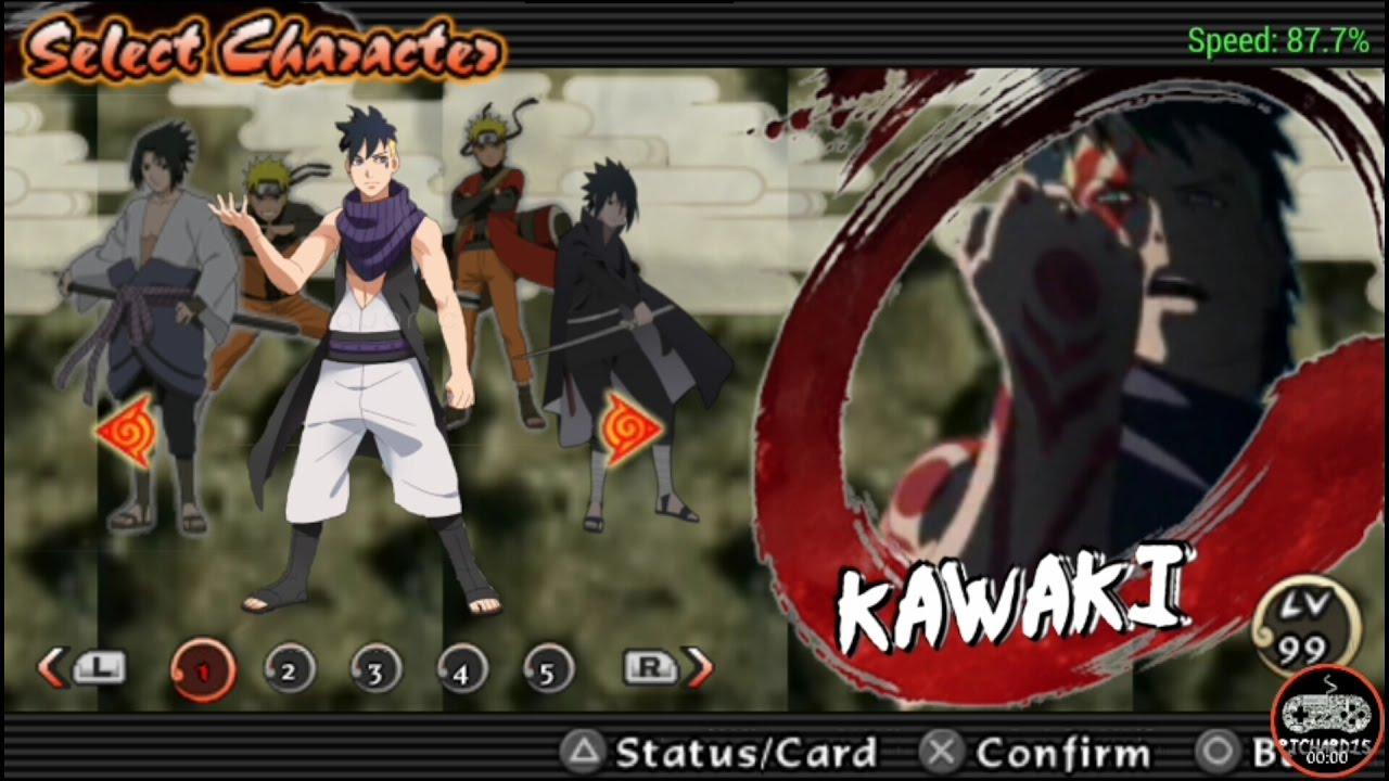 Naruto Ultimate Ninja Impact MOD Skin Kawaki For RTB Pack ...