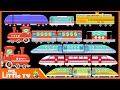 Learning Trains for Kids | Railway Vehicles - Trains & Subways | My Little TV