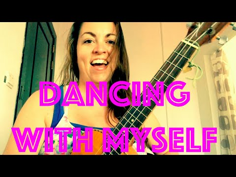 How to Play DANCING with MYSELF ~ Ukulele Lesson Chords Billy Idol Nouvelle Vague Easy Tutorial mp3
