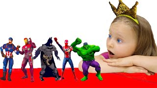 Superheroes Dance with Milli and family | Milli family SHOW