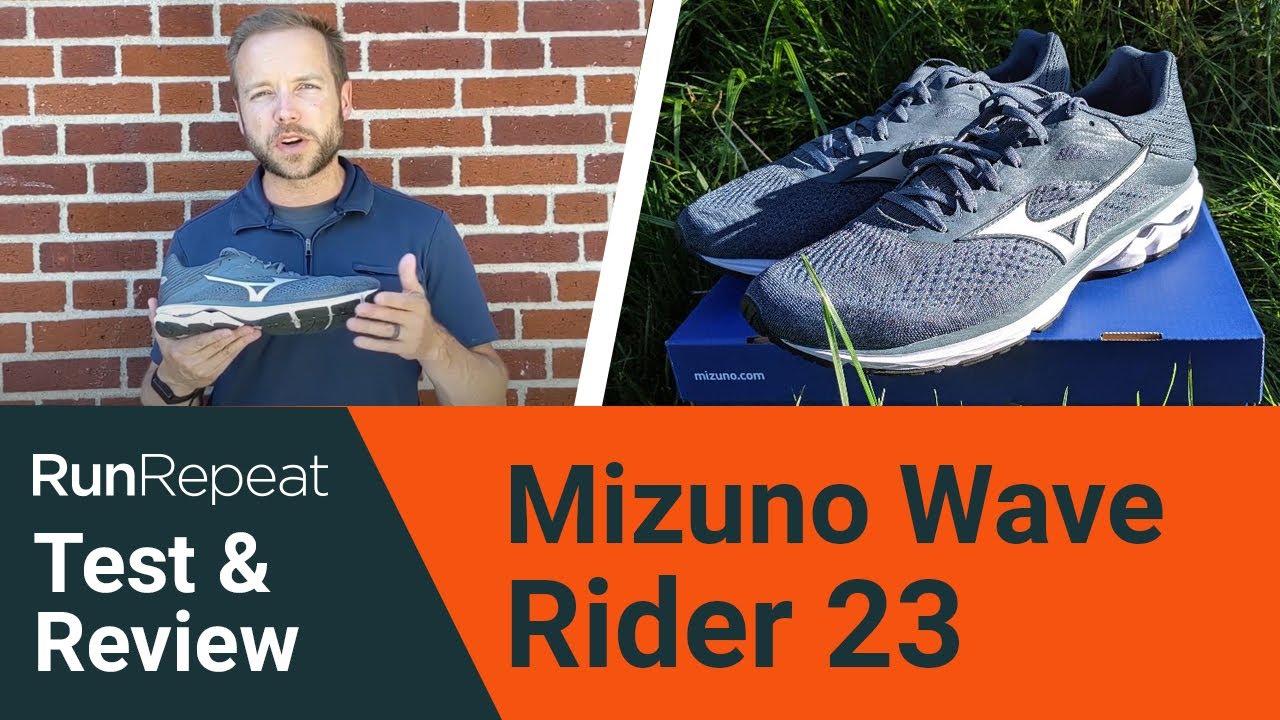 Mizuno Wave Rider 23 test \u0026 review - A