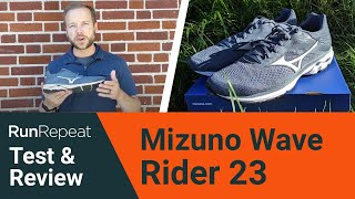 Mizuno Wave Rider 23 test & review - A reliable neutral daily running shoe