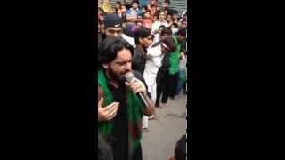 Akbar Tumhe Maloom Hai Kya Mang Rahe Ho Live Nauha Sahibealam Muharram 1436