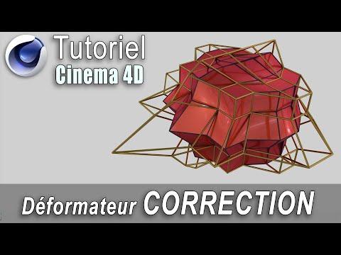 Tutorial cinema 4d r17: Déformateur correction