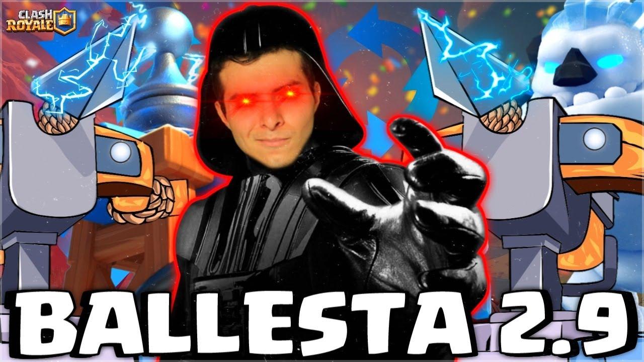 NUNCA CREÍ REGRESAR AL LADO OSCURO⚠-BALLESTA 2.9 - Adrian Piedra Clash Royale