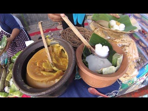 Indonesia Yogyakarta Street Food 3798 Part.1 Jenang Gempol Jajanan Pasar Dhe Yani YDXJ0976