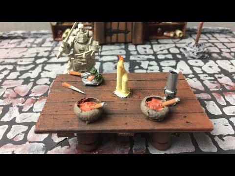 Tabletop Craft # 15 - Tavern Tables