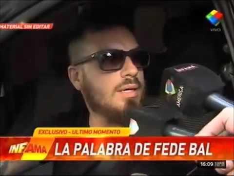 Fede Bal habló para Infama y ratificó que no ejerció violencia contra Barbie Vélez