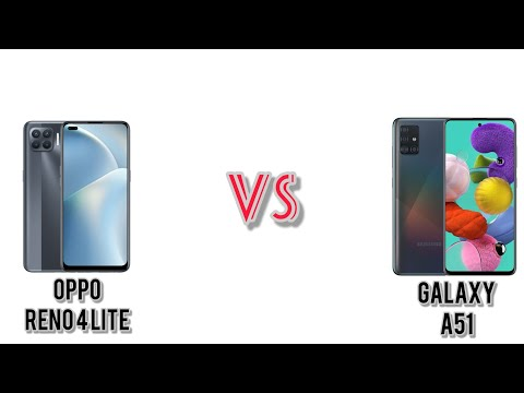 Oppo Reno 4 Lite VS Samsung Galaxy A51