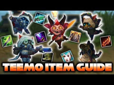 Every Viable Teemo Item (AP, Tank, Crit & On hit)