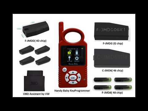 About the JMD Handy-Baby car key programmer + VW OBD Assistant