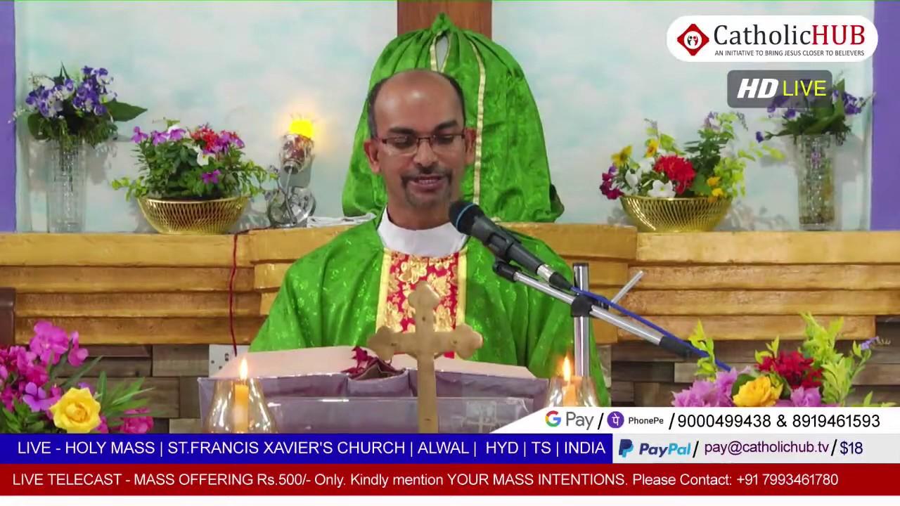 LIVE English Mass | Fr.D.Balaswamy SJ | St.Francis Xavier's Church | Alwal | HYD | TS | 09-07-2020