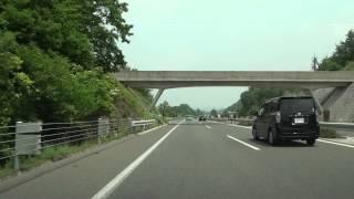 岡山自動車道 岡山JCT→北房JCT→落合JCT 全線等速