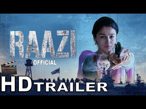 Raazi Official Trailer | Alia Bhatt, Vicky Kaushal | Directed by Meghna Gulzar | 11th May 2018