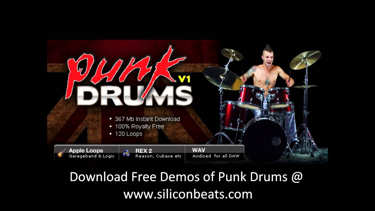 Punk Drum Loops - Punk Drum Loops V1
