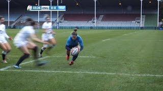 Inghilterra VS Italia - 6 Nazioni Femminile: la meta di Sofia Stefan