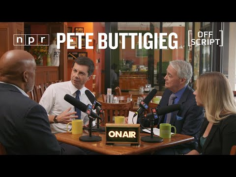 Pete Buttigieg Talks Civility, Health Care With Undecided Voters In South Bend | Off Script | NPR thumbnail