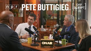 Pete Buttigieg Talks Civility, Health Care With Undecided Voters In South Bend   Off Script   NPR