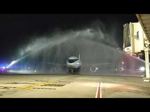 First direct flight from the African Continent to Jamaica