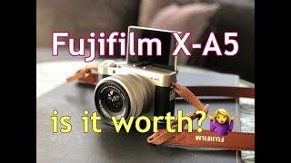 FUJIFILM X-A5 REVIEW | MIRRORLESS CAMERA | EL AKIRA