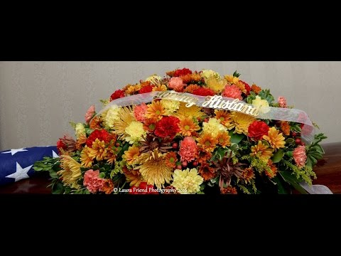 Military Funeral HOMER IVISON United States Army WWII Veteran