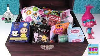 Simons Blind Bag Treasure Chest #45 Unboxing Disney Shopkins Ooshies Trolls | PSToyReviews