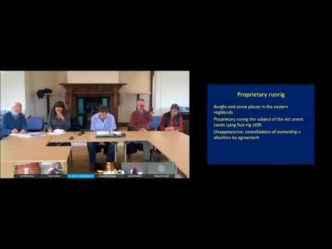 Malcolm Bangor-Jones - 'Understanding Runrig in the Northern Highlands'