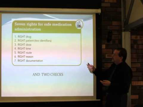 Introduction to Medications Administration Part Three of Three