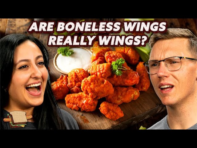 Are Boneless Wings Really Wings A Hot Dog Is A Sandwich Mythical Kitchen Youtube