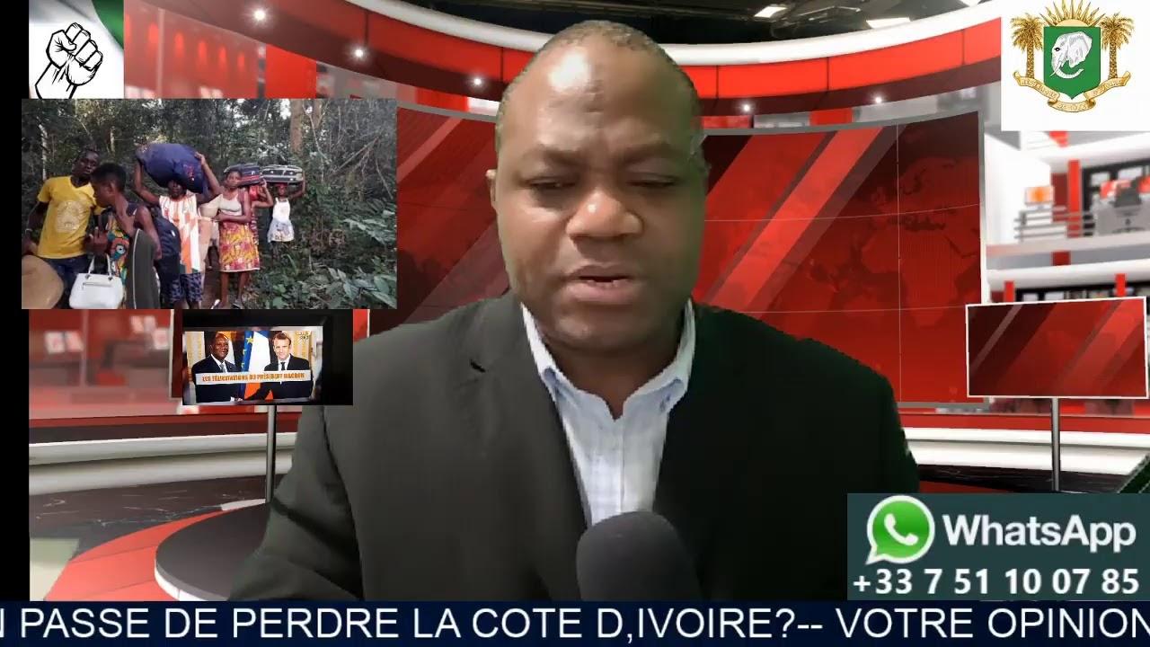 LA FRANCE EN PASSE DE PERDRE LA COTE D,IVOIRE?