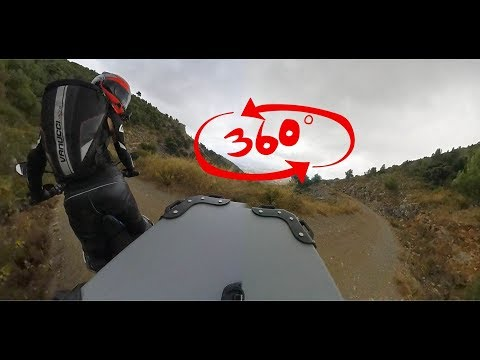 TEST Take a seat on my suitcase! 360 CAMERA on Sierra de las Nieves