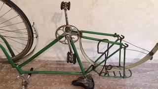 Велосипед Урал #2 Из чего состоит заднее колесо?