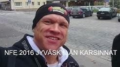 BODYBULDING -90KG NFE 2016 JYVÄSKYLÄN KARSINNAT