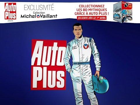 Des BD originales de Michel Vaillant avec Auto Plus