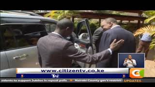 Uhuru gives Kenya's youngest MP a car