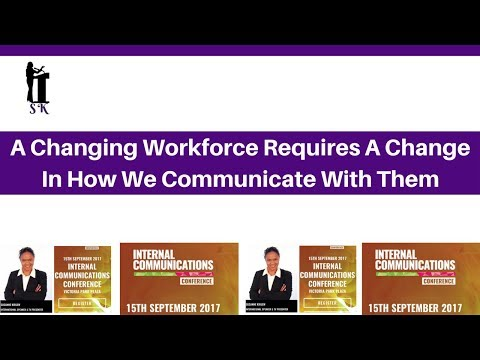 A Changing Workforce Requires a Change in The Way We Communicate with them