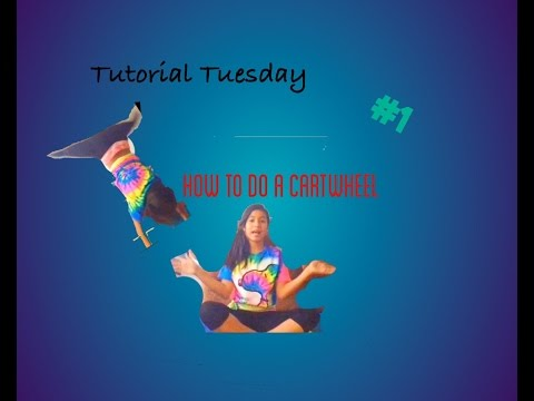 How to do a Cartwheel | Tutorial Tuesday #1 | Self Taught Gymnast Danielle