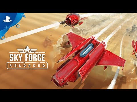Sky Force Reloaded - Launch Trailer | PS4