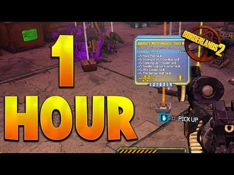 1 HOUR OF FARMING LOOT MIDGETS IN BORDERLANDS 2 PS4