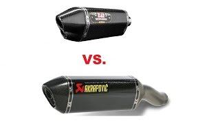 CB1000R Yoshimura vs Akrapovic