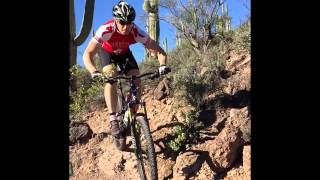 A Mountain Bikers Dream....Winter Riding in AZ