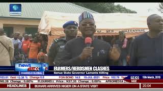 Farmers/Herdsmen Clashes: Benue Governor Ortom Laments Killings