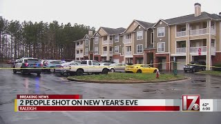 Man, woman shot at Raleigh apartment complex; police investigating
