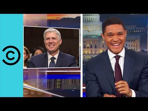 Neil Gorsuch Speaks Like An Action Hero | The Daily Show