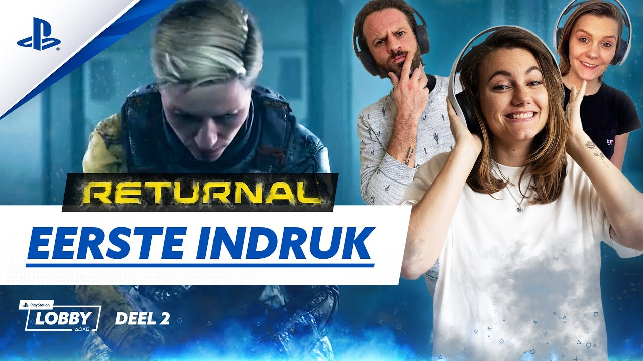 LET'S PLAY RETURNAL | PlayStation Insiders /w Maxime, Puck en Simon
