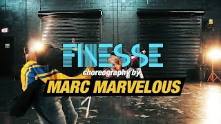 Finesse (Remix) - Bruno Mars Feat. Cardi B (Dance Video) | @itsallmarvelous Choreography