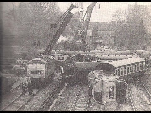 Ealing rail crash