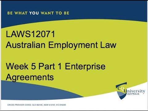 Enterprise Agreements General