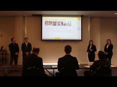 University of Missouri 2017 Case Competition Team