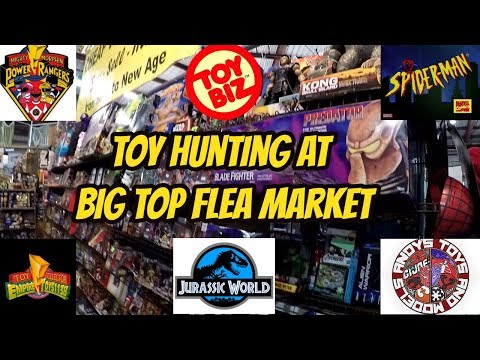 TOY HUNTING AT BIG TOP FLEA MARKET TAMPA